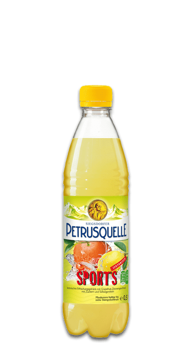 Siegsdorfer Petrusquelle Sports isotonisch